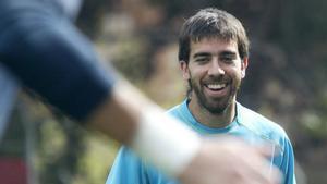 Oleguer Presas muestra su afán de aportar otros valores al mundo del fútbol