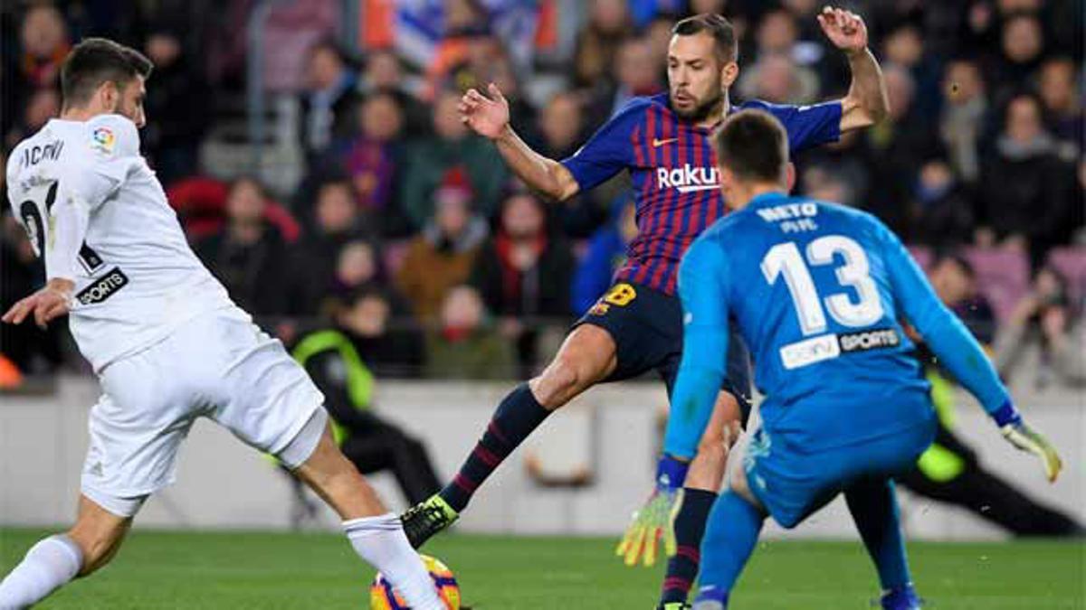 Neto fue un dolor de cabeza para el ataque del Barça