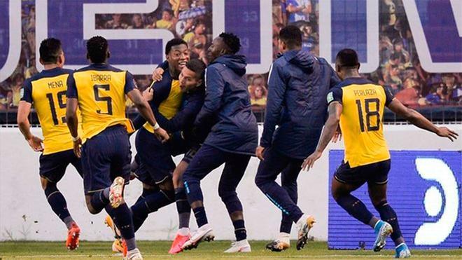 Goleada de Ecuador ante Colombia
