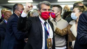 Joan Laporta vuelve a ganar las elecciones a la presidencia del FC Barcelona 18 años después