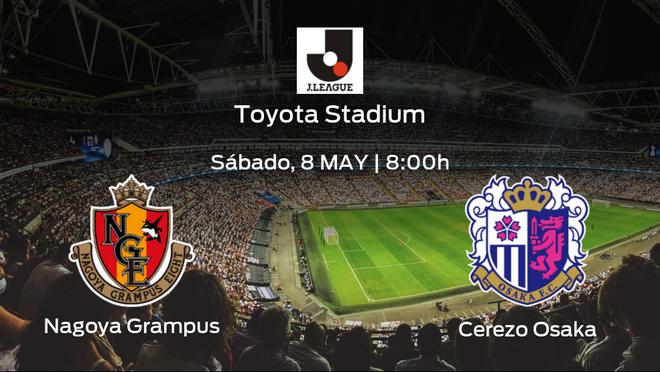 Previa del encuentro: el Nagoya Grampus recibe en su feudo al Cerezo Osaka