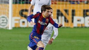 Riqui Puig no fue convocado para la final
