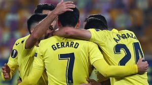 Un doblete de Gerard Moreno ha dado el pase al conjunto de Emery a los octavos de final de la Europa League