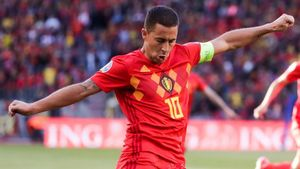 Hazard no disputó ningún partido con su selección en 2020