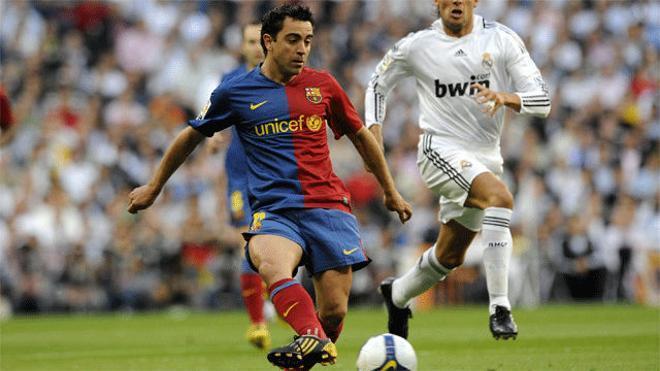 27. Ruleta de Xavi y asistencia a Messi