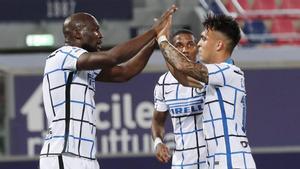 Lukaku y Lautaro, la dupla letal en la delantera del Inter