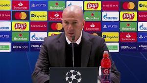 Zidane destaca el impacto de Vinicius ante el Liverpool