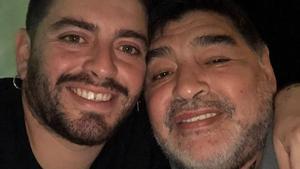Diego Junior dice adiós a Maradona a través de este emotivo mensaje