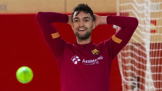 André Coelho ha recuperado la alegría en el Barça