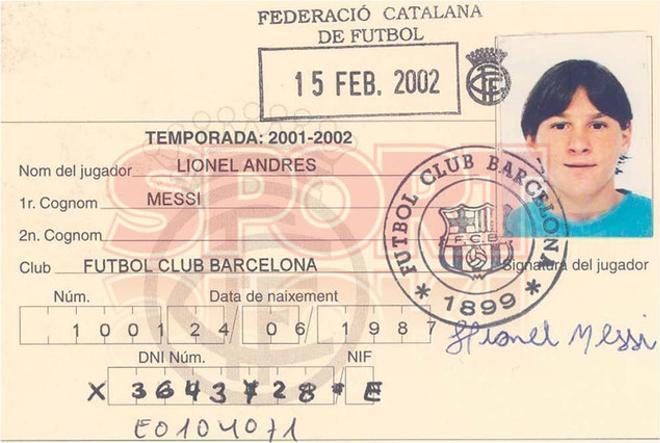 4.Leo Messi