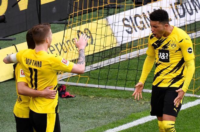 Sancho brilló en el importantísimo triunfo del Dortmund