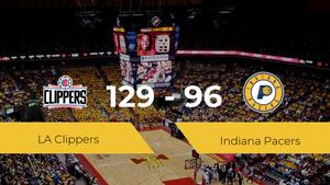 Victoria de LA Clippers ante Indiana Pacers por 129-96