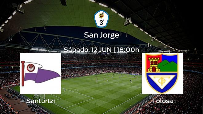Jornada 10 de la Segunda Fase de Tercera División: previa del duelo Santurtzi - Tolosa CF