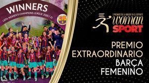 El Barça femenino, ganador del Premio Extraordinario de Woman y Sport