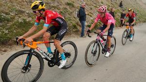 Pello Bilbao, durante el Tour de Francia