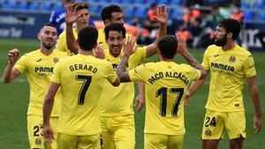 El Villarreal doblega al Getafe en el Coliseum