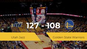 Utah Jazz logra la victoria frente a Golden State Warriors por 127-108