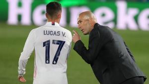 Lucas Vázquez: Lo que dice el míster va a misa. Hay que estar felices