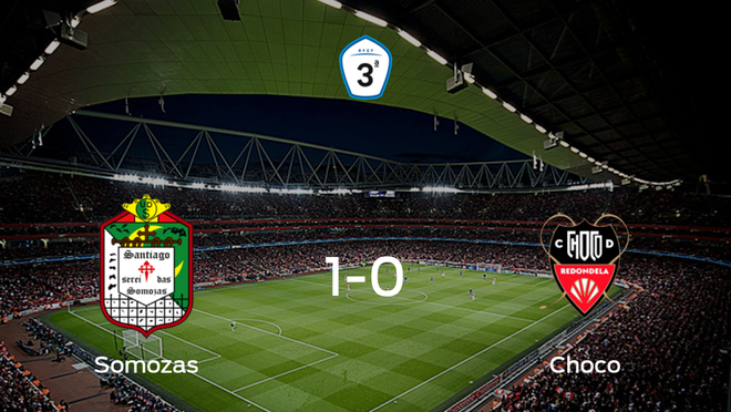El Somozas se impone al Choco en los cuartos de final de los playoff de ascenso de Tercera División (1-0)