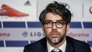 Juninho, director deportivo del Olympique de Lyon
