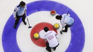 Imagen de archivo de una de las competiciones de curling