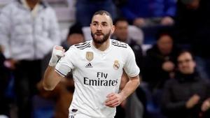 Benzema sigue en racha goleadora