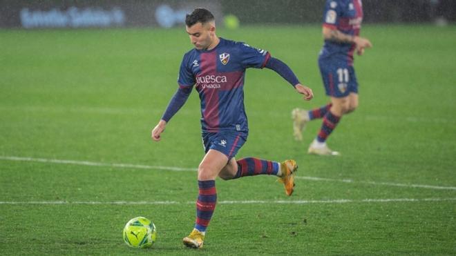 El Huesca confirmó que Borja García ha dado positivo por covid19