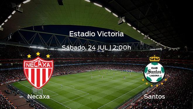 Previa del encuentro: comienza la Liga MX de Apertura para el Necaxa jugando ante el Santos Laguna