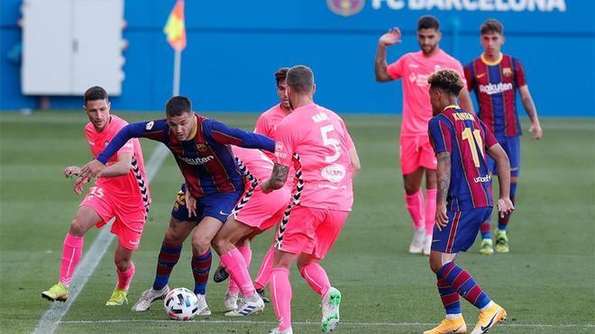Rey Manaj suma nueve goles y es una de las bazas ofensivas del filial