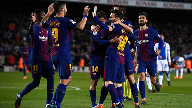 LALIGA FCB   FC Barcelona - Leganés (3-1)