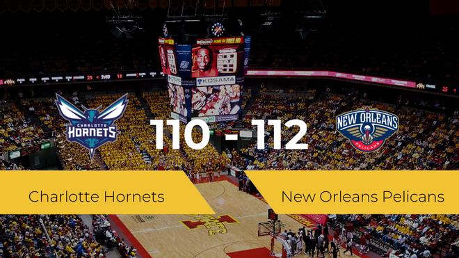New Orleans Pelicans se queda con la victoria frente a Charlotte Hornets por 110-112
