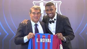 Emerson: Es un placer estar en el Barça. Es un sueño y trabajé mucho para estar aquí
