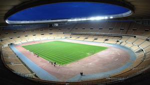 Estadio La Cartuja, sede de la Copa del Rey