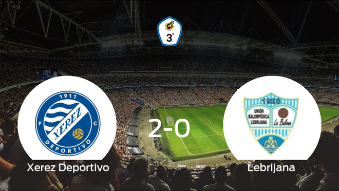 El Xerez Deportivo se impone por 2-0 a la Lebrijana