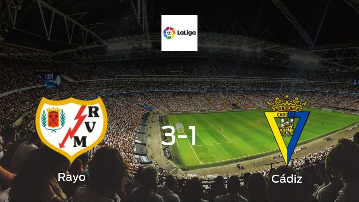 Mission accomplished for Rayo as they secure a 3-1 home win against Cádiz