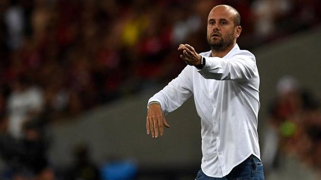 Ramírez, un técnico joven muy respetado en el fútbol sudamericano