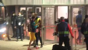 Así ha sido la llegada del Barça al Sadar
