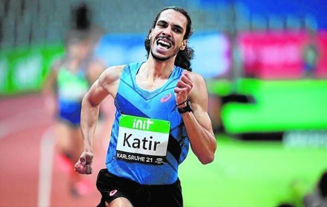 Mohamed Katir hizo historia en Karlsruhe