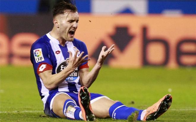 Lucas Pérez podría continuar en el Deportivo la próxima temporada