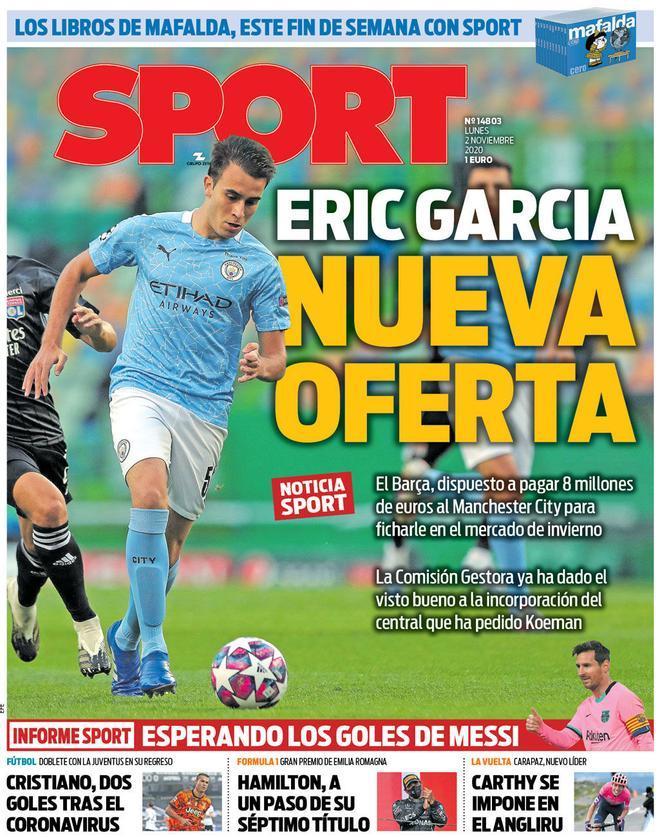 Nueva oferta Eric Garcia