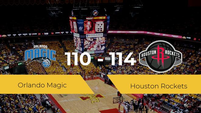 Houston Rockets consigue vencer a Orlando Magic (110-114)