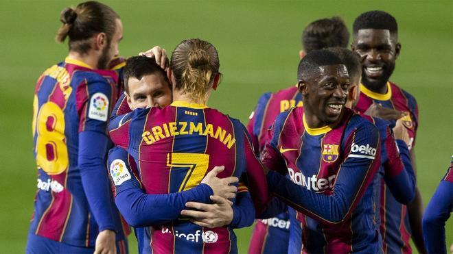 El XI del Barça ante el Granada