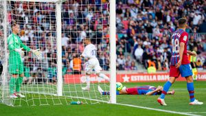 El Barça cayó ante el Real Madrid