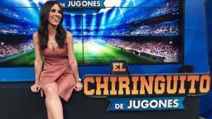 El Chiringuito: Sandra Díaz, presa de un divertidísimo troleo fonético
