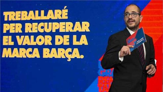 Jordi Farré, precandidato a la presidencia del FC Barcelona