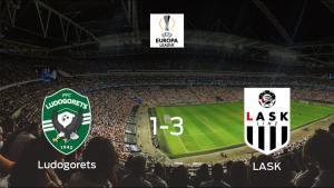 El LASK se lleva los tres puntos frente al Razgrad Ludogorets (1-3)