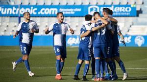 El Sabadell ha de lograr una nueva victoria para intentar zafarse del descenso