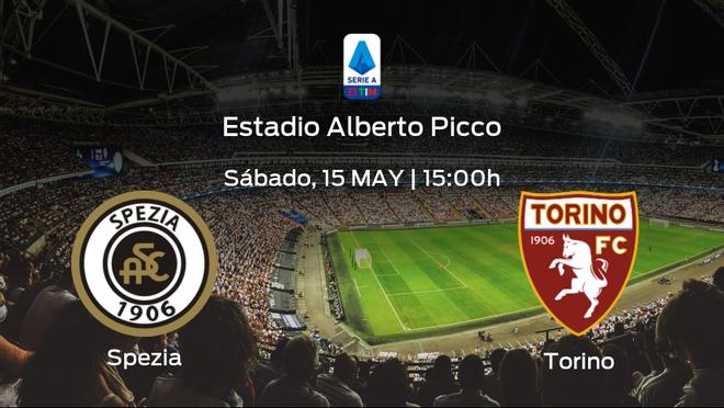 Jornada 37 de la Serie A: previa del duelo Spezia Calcio - Torino