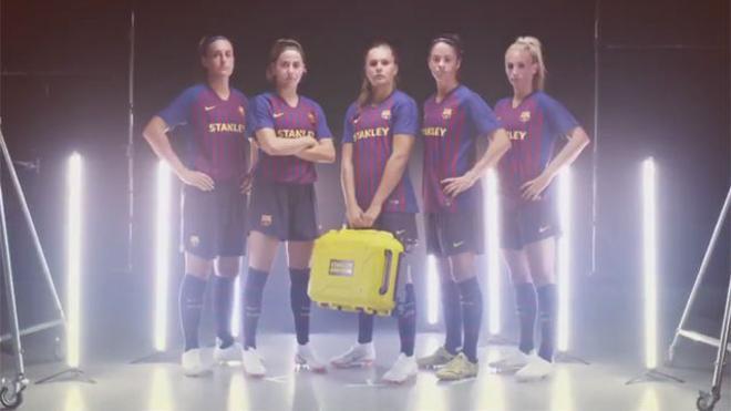 Stanley Black & Decker patrocinará al Barça femenino