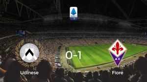 La Fiorentina deja sin sumar puntos al Udinese (0-1)